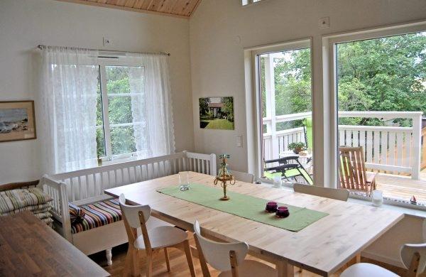 Ferienhaus Schweden Am Meer Für 6 Personen In Höganäs   Esszimmer