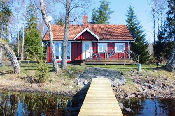 Ferienhaus schweden am see für 4 personen in hässleholm