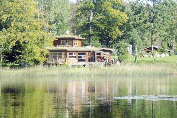 ferienhaus schweden am see f r 4 personen in osby ferienhaus schweden. Black Bedroom Furniture Sets. Home Design Ideas