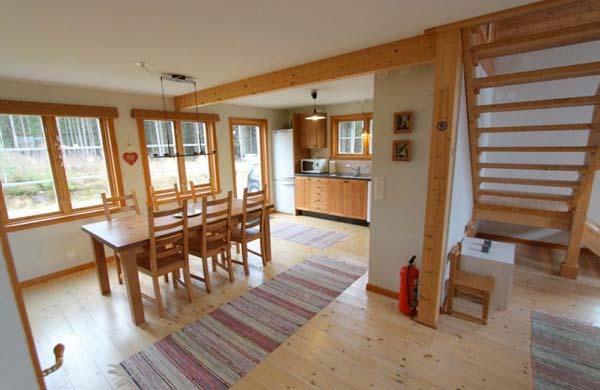 Ferienhaus schweden am see für 6 personen in lillarp ess und küchenbereich
