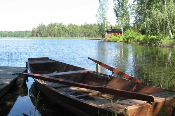 Ferienhaus schweden mit boot f r 5 personen in hultsfred for Ferienhaus in schweden