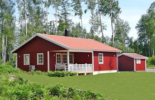 Ferienhaus schweden mit boot f r 6 personen in arj ng for Ferienhaus in schweden